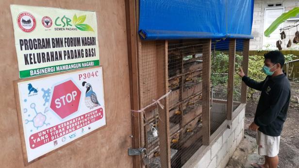 Kandang Puyuh Rumah Dagang Forum Nagari Padang Besi