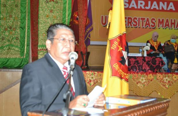 Ketua yayasan Mahaputra Profesor Muhammad Yamin Sarjana Hukum, Suryadi Asmi