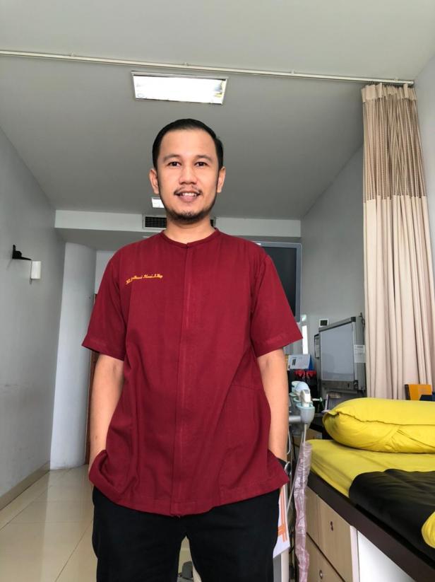 perawat di SPH, Ns. Zaituni Ilmi, S. Kep