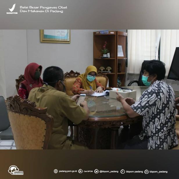 BBPOM di Padang tengah beraktivitas meski di tengah pandemi COVID-19