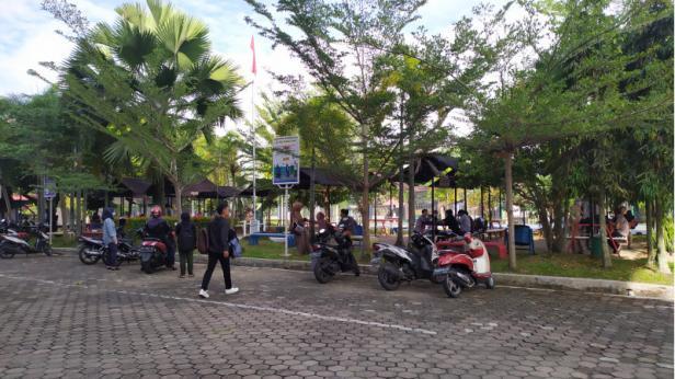 Taman Digital kampus STMIK Indonesia Padang