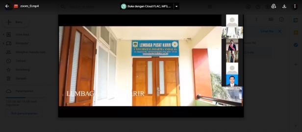 Lembaga Pusat Karir di Universitas Dharma Andalas