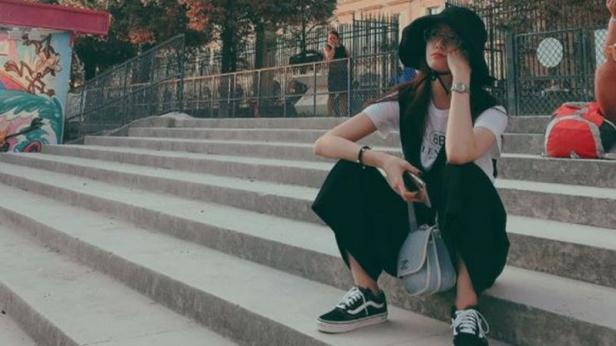 Yoona SNSD dengan gaya santainya (Instagram)