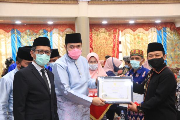 Peringatan Hari Jadi Kota Padang Panjang ke-230 dihadiri oleh Gubernur Sumbar Irwan Prayitno, Selasa (1/12)