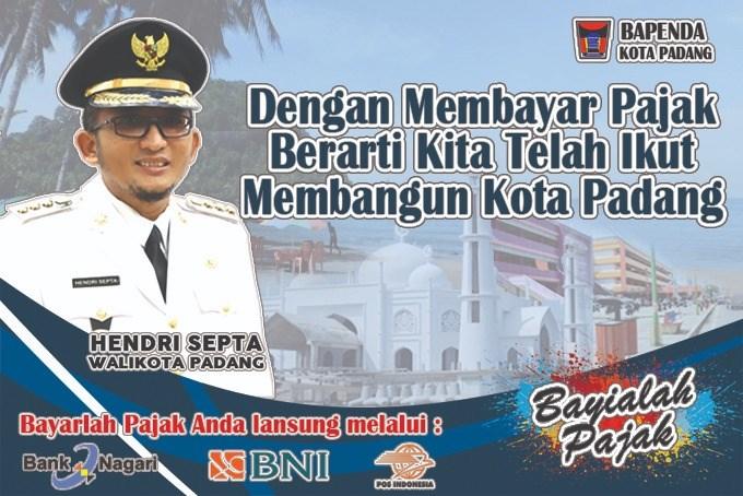 Bapenda Kota Padang 2021 - Desktop