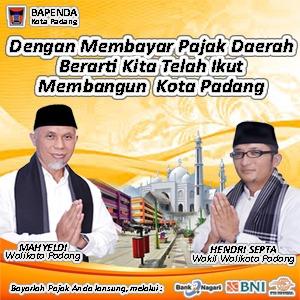 Bapenda Kota Padang - bayar pajak mobile