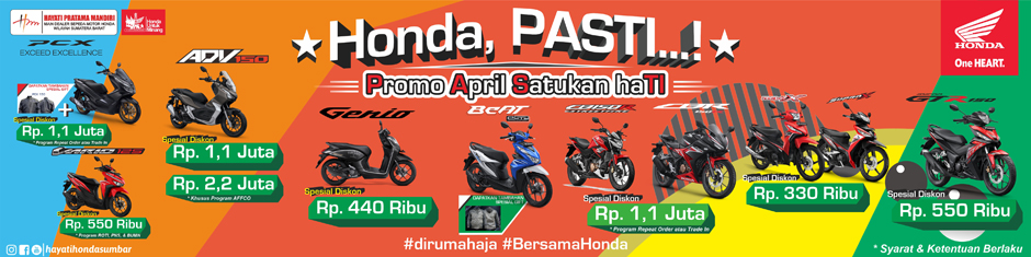 Honda Hayati April