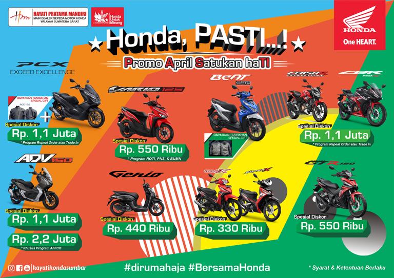 Honda Hayati April web