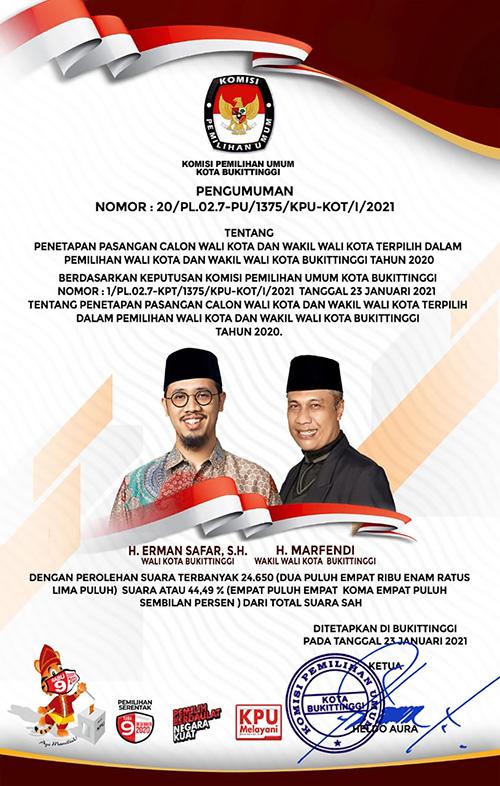 KPU Bukittinggi D