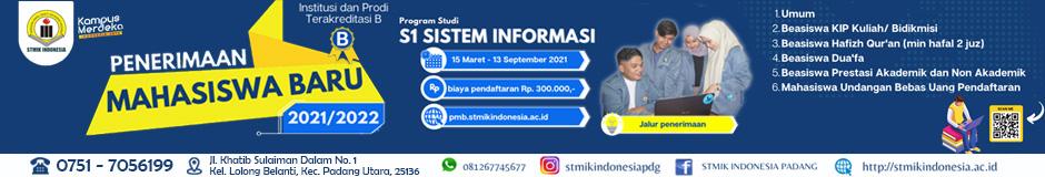 STMIK Padang (D) 2021
