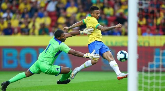 Brasil berhasil mengalahkan Bolivia
