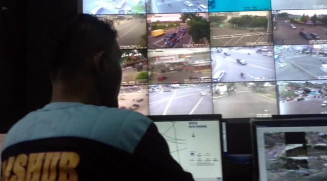 Pemantauan arus lalulintas di Kota Padang melalui CCTV