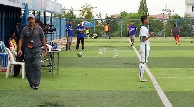 Timnas U-16 vs Myanmar U-16