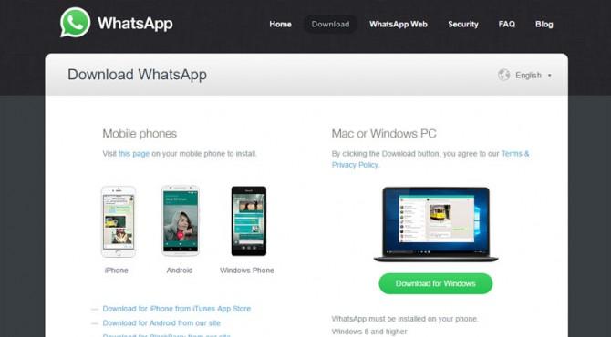 WhatsApp Aplikasi Desktop