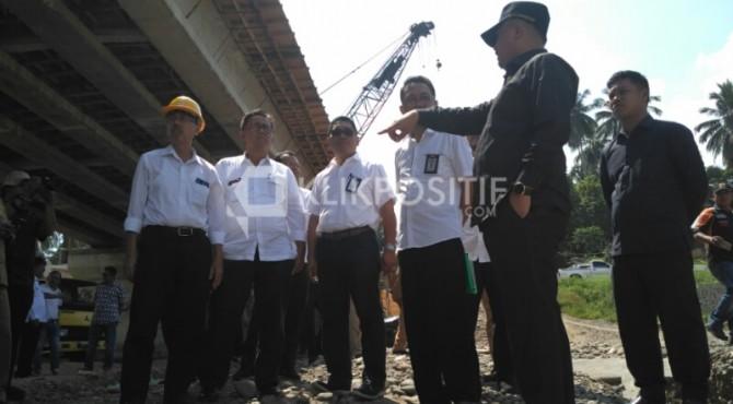 Peninjauan Pembangunan Jembatan Sungai Dareh