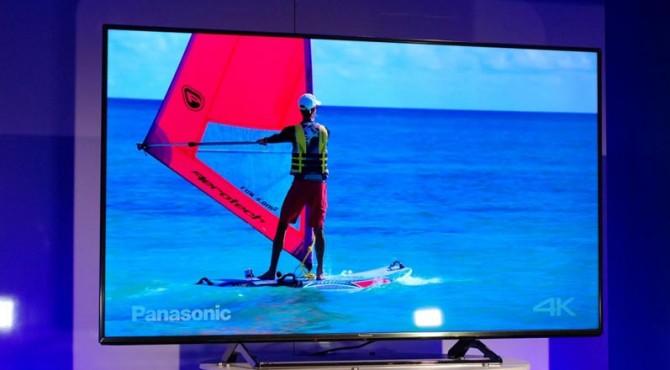 Panassonic 4K LCD TV.