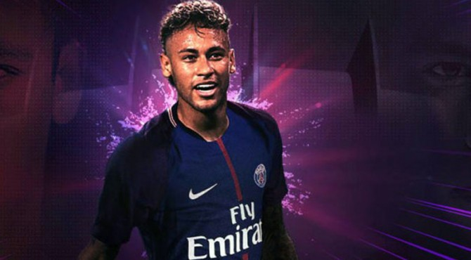 Neymar resmi berseragam PSG