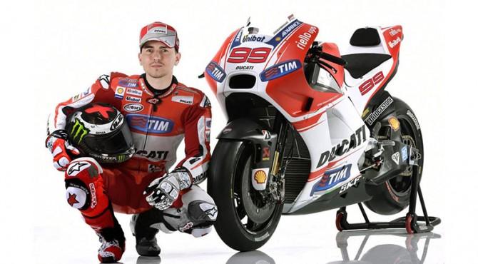 Lorenzo resmi menunggang Ducati di MotoGP 2017
