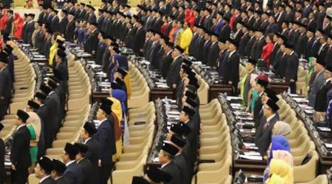 Pelantikan anggota DPR Periode 2019-2024