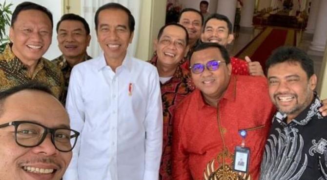 Jokowi temui Presiden Buruh.