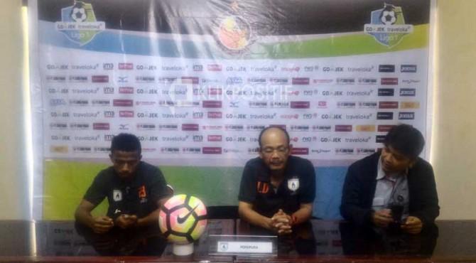 Technical meeting Semen Padang FC vs Persipura
