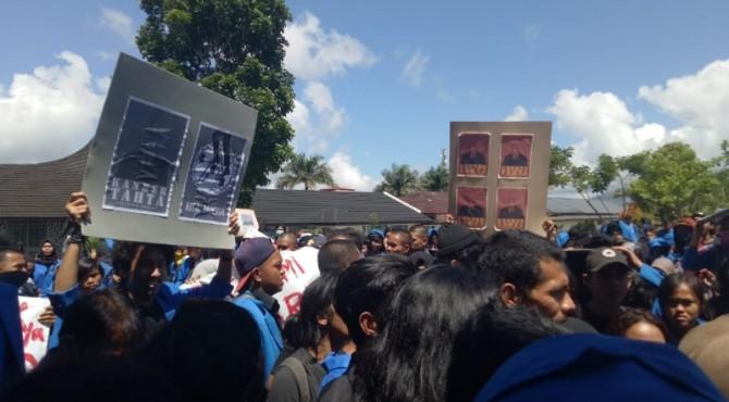 Unjukrasa mahasiswa ISI Padang Panjang