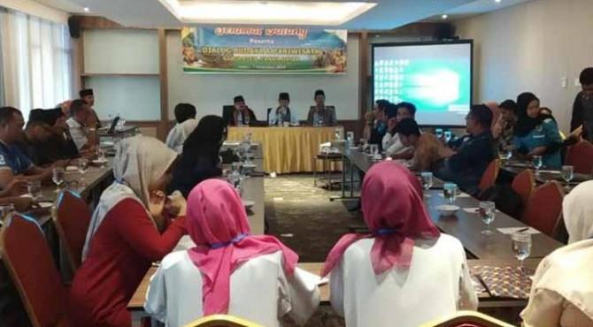 Pembukaan Dialog pariwisata dan budaya Tanah Datar