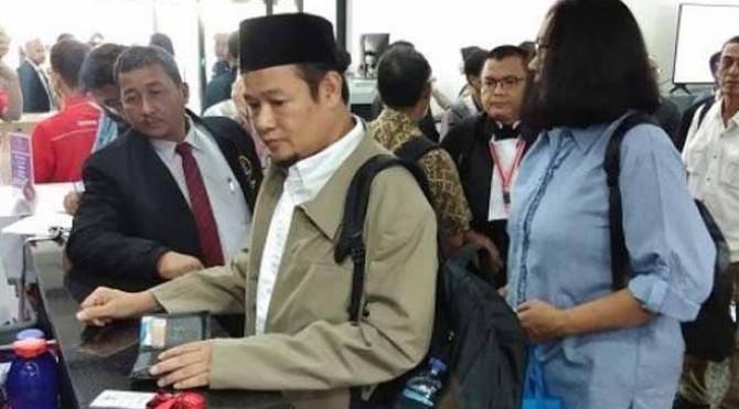 Sejumlah saksi dari tim hukum Prabowo - Sandiaga tiba di gedung MK, Rabu (19/6/2019).