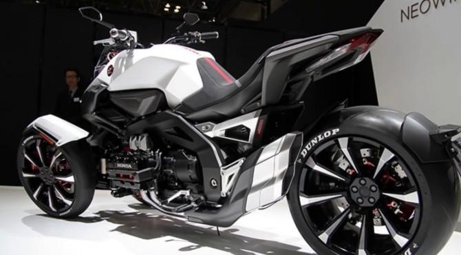 Honda NeoWing, sepeda motor roda tiga milik Honda