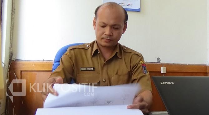 Sekretaris Dinsos Kota Payakumbuh, Wawan Sofianto.