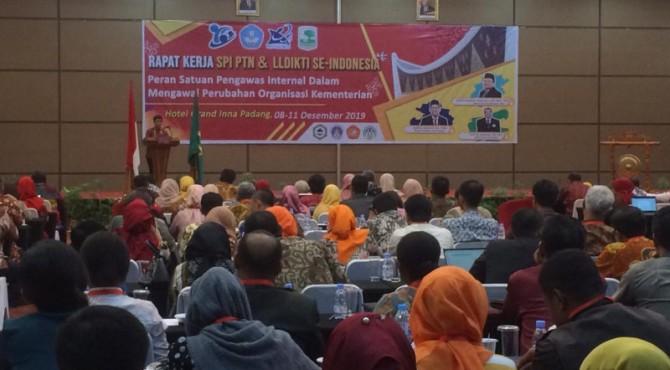 Raker SPI PTN dan LLDKTI se Indonesia di Padang