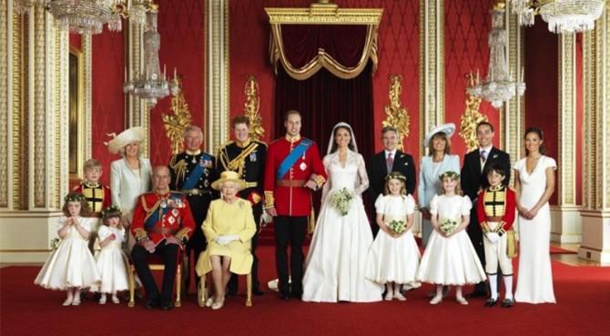 Keluarga bangsawan Inggris