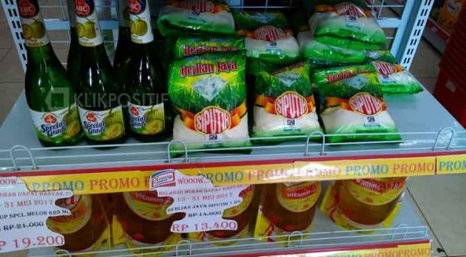 Harga Eceran Tertinggi (HET) di Minang Mart tidak sesuai dengan aturan Kemendagri.