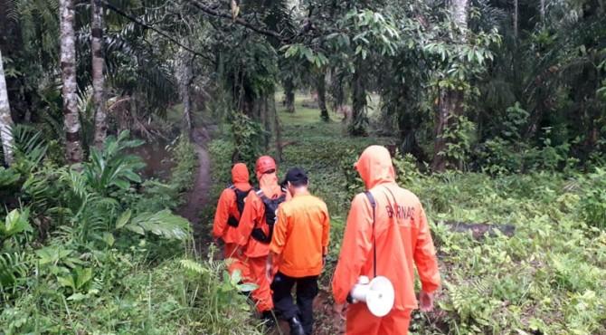 Pencarian korban hilang di Pasbar