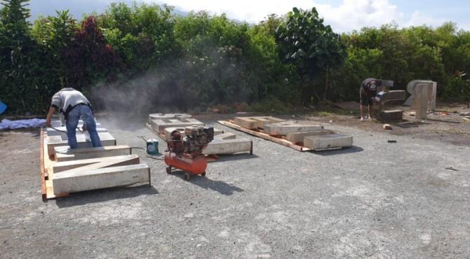 Pemkab setempat mulai melakukan perbaikan di objek Wisata Air Terjun Telun Berasap yang akan menjadi titik start pembalap TdS 2019 di Kerinci