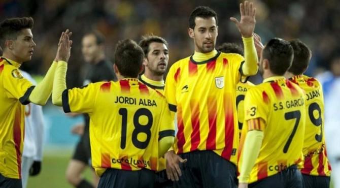 Deretan pemain bintang yang bakal ada di Timnas Catalunya.