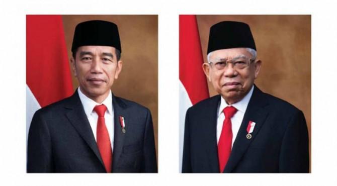 jokowi dan Ma'ruf Amin