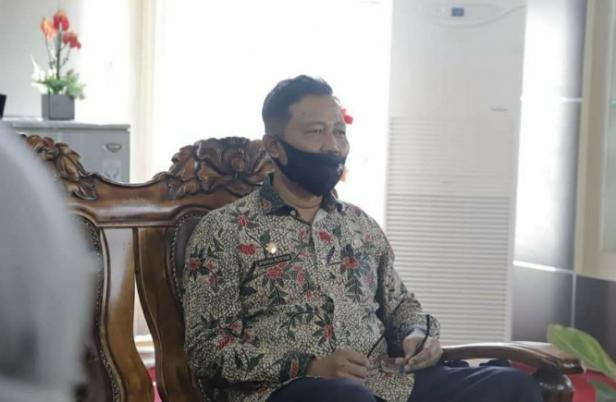Sekretaris tim penanganan Covid-19 kota Solok, Syaiful Rustam.