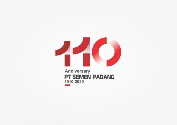 Logo HUT Semen Padang ke 110 tahun