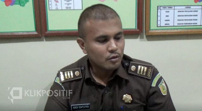 Ketua tim pemeriksaan dugaan korupsi SPJ fiktif perjalanan dinas di DPRD Kota Payakumbuh, Hadi Saputra.