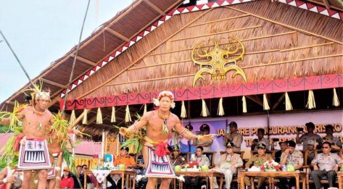Pembukaan Jambore Pengurangan Resiko Bencana ke VI di Mentawai