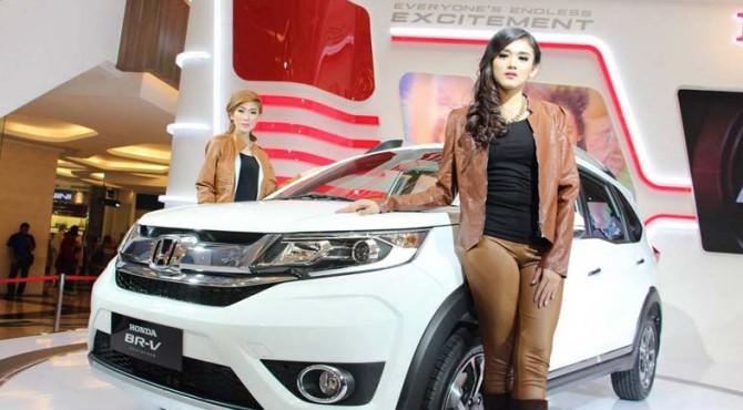 Honda BR-V salah satu produk unggulan Honda
