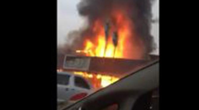 Kebakaran Toko furniture Setia Budi