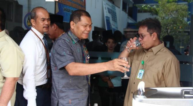 Spot air siap minum di RSUP M Djamil Padang