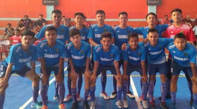 Tim Futsal Tuah Sakato Sumbar di Ajang 8 Besar Nasional LFN 2019 di Purwokerto