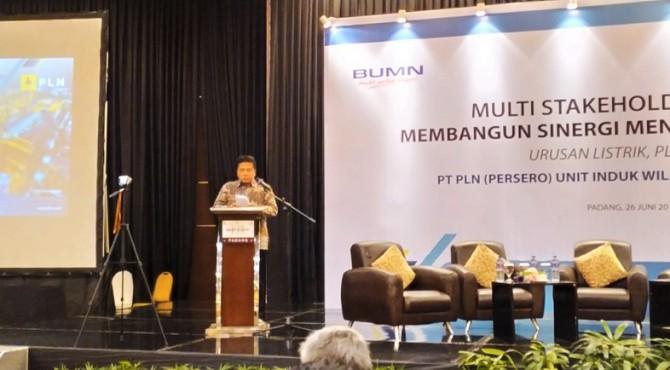GM PLN UIW Sumbar Bambang Dwiyanto