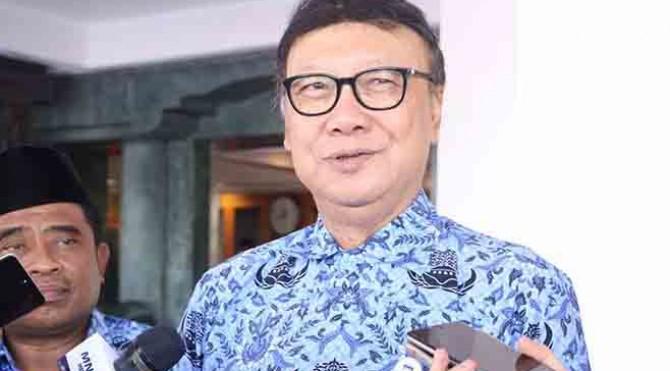Menteri Dalam Negeri (Mendagri) Tjahjo Kumulo