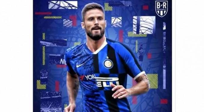Olivier Giroud dilaporkan bakal bergabung Inter Milan.