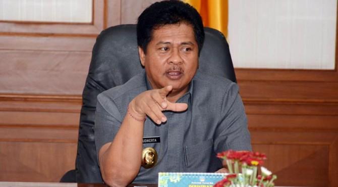 Wakil Gubernur Bali, I Ketut Sudikerta.