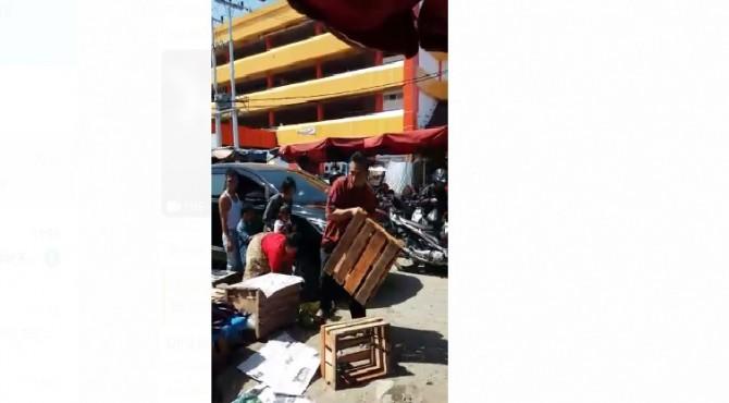 Potongan Video viral Kepala Dinas Perdagangan Padang